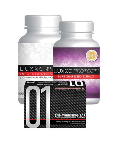 Frontrow Combo #1 - Luxxe White | Luxxe Protect | Celebrity Soap 01